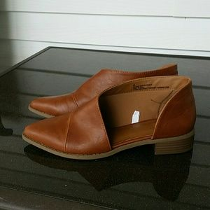 Universal Thread Shoes - Universal Thread Wendy Cognac Cut Out Booties, 8.5